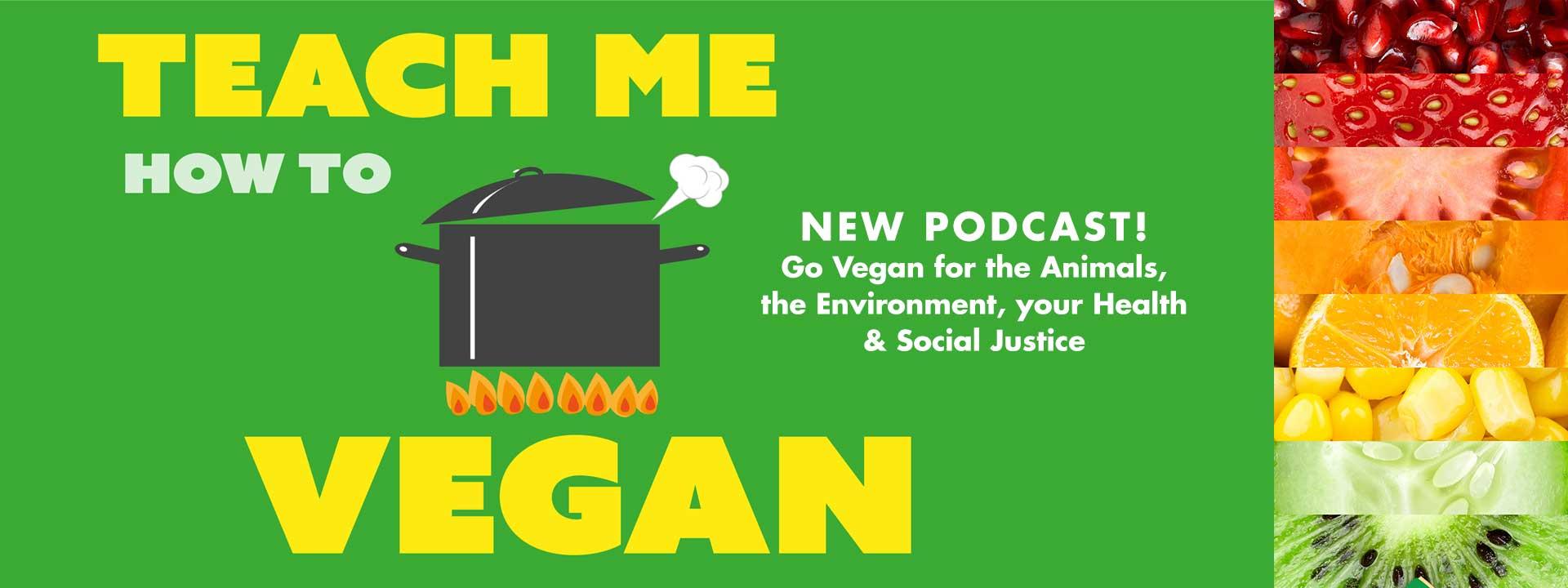 Teach Me How to Vegan Podcast