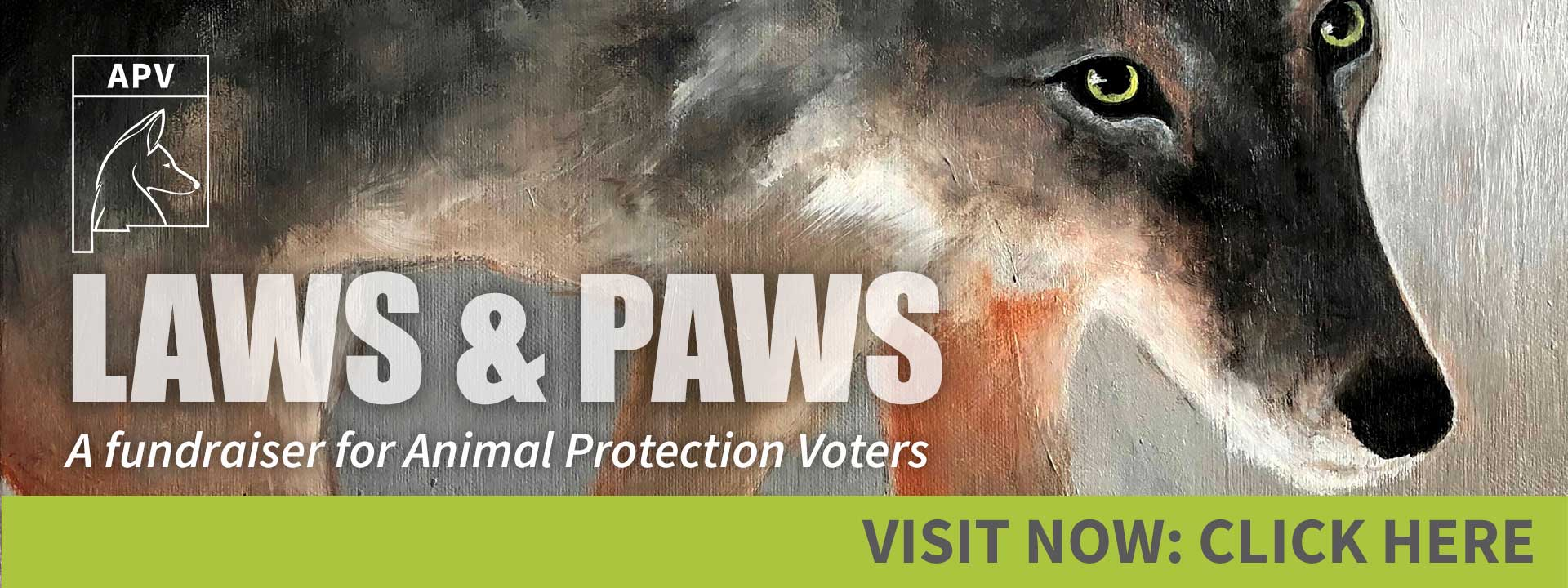 Laws & Paws 2021 - A Fundraiser for Animal Protection Voters